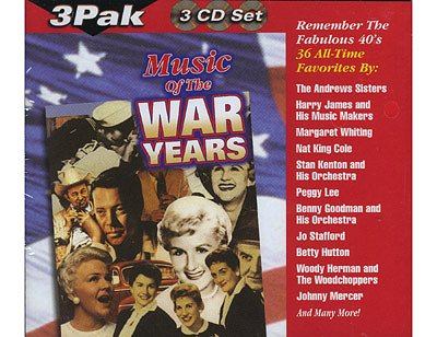 Music of the War Years - from Google image http://www.ddaymuseum.org/store/images/music_war_years.jpg