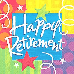 Happy Retirement Google image from perfectpartybycody.com