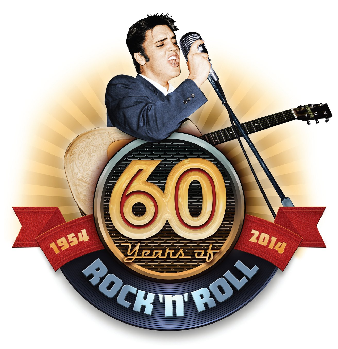 60 years of Rock and Roll Elvis Presley Logo Google image from  http://www.elvis.com/!userfiles/editor/images/60YearsLogo.jpg