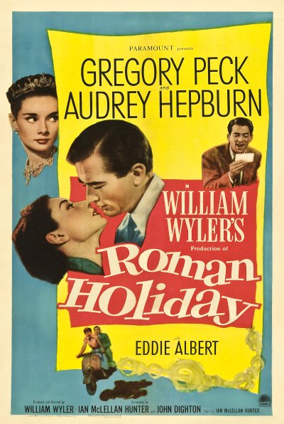 Roman Holiday (1953) Movie Poster Google image from https://kpbs.media.clients.ellingtoncms.com/img/events/2014/Poster_-_Roman_Holiday_01.jpg