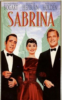 Sabrina (1954) Movie Poster Google image from http://onthisdayinfashion.com/?p=5794