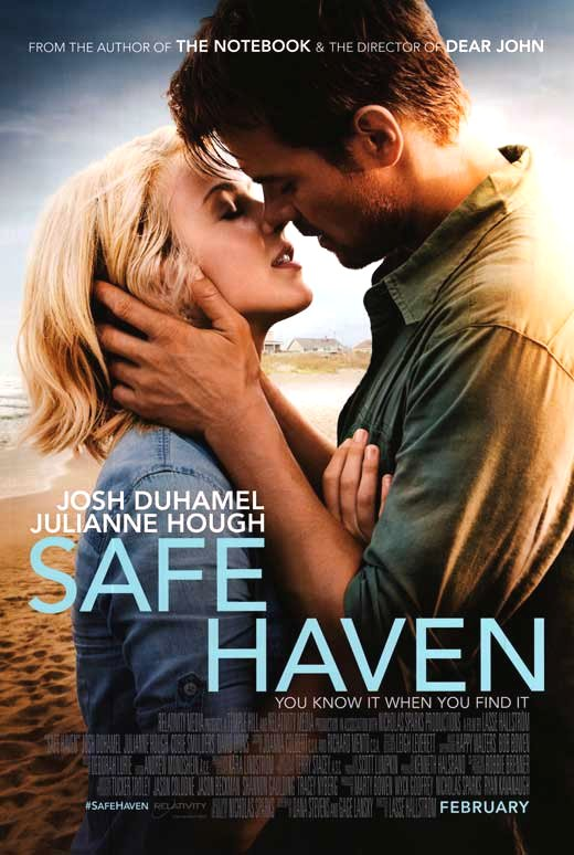 Safe Haven (2013) Movie Poster Google image from http://images.moviepostershop.com/safe-haven-movie-poster-2013-1020753932.jpg