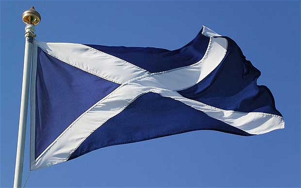Flag of Scotland Google image from http://newsbusters7.s3.amazonaws.com/images/Scottish_flag.jpg