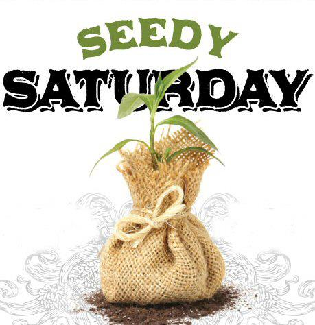 Seedy Saturday Google image from http://library.brucecounty.on.ca/wp-content/uploads/2013/04/seedylogo.jpg