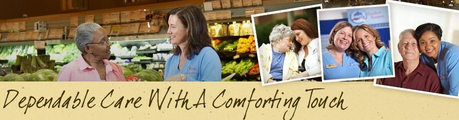Seniors Nutritional Health image from Comfort Keepers flyer.
