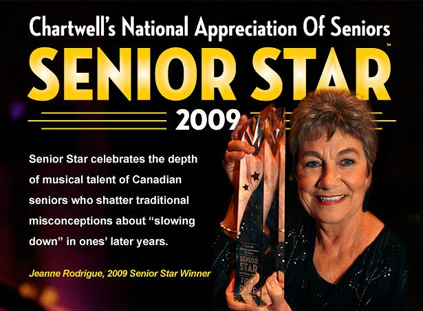 Chartwell's National Appreciation of Seniors Day Senior Star DVD Release Party Google image from http://www.chartwell.com/home/senior_star/index.php