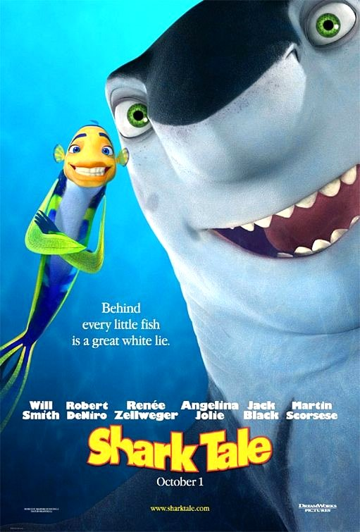 Shark Tale (2004) Movie Poster Google image from http://www.impawards.com/2004/posters/shark_tale_ver2.jpg