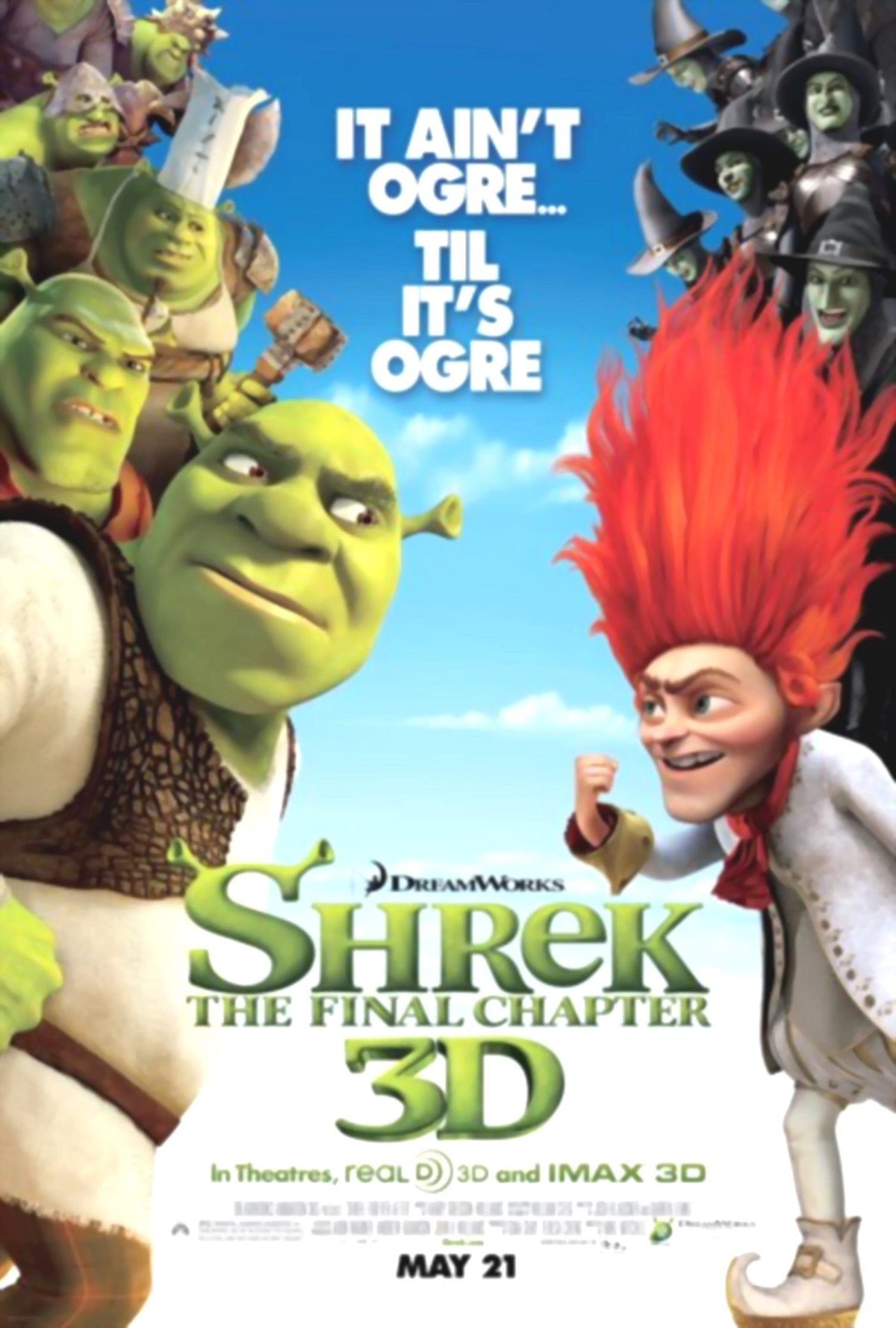Shrek: The Final Chapter or Shrek Forever After Google image from http://i22.lulzimg.com/i/cf0273.jpg