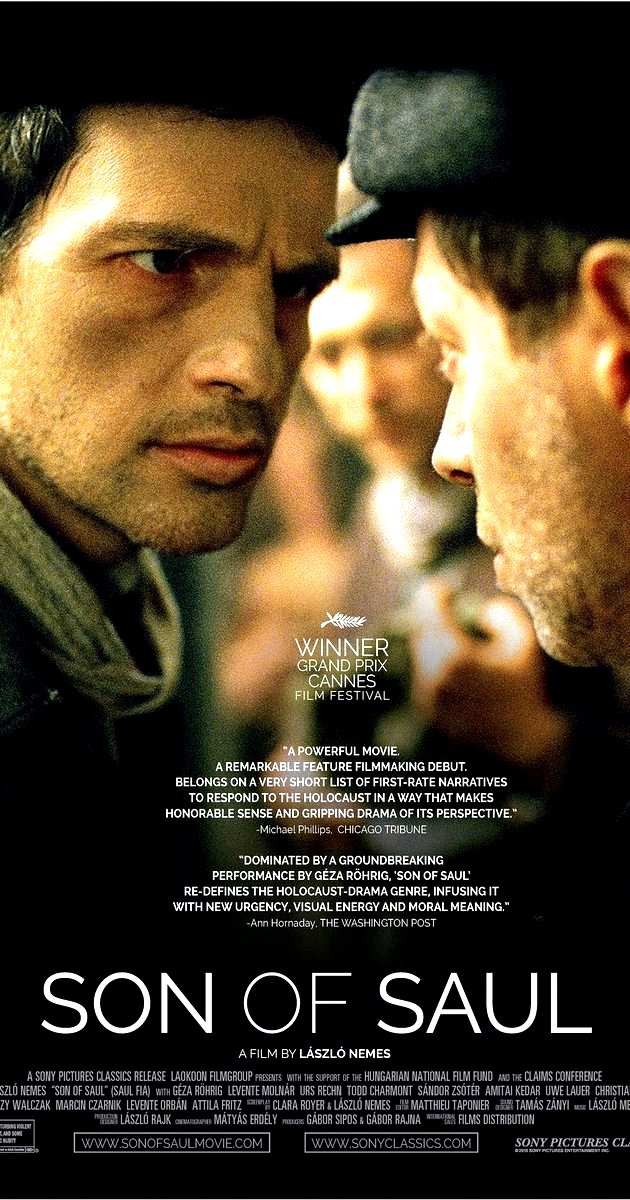 Son of Saul (2015) Movie Poster Google image from http://www.imdb.com/title/tt3808342/