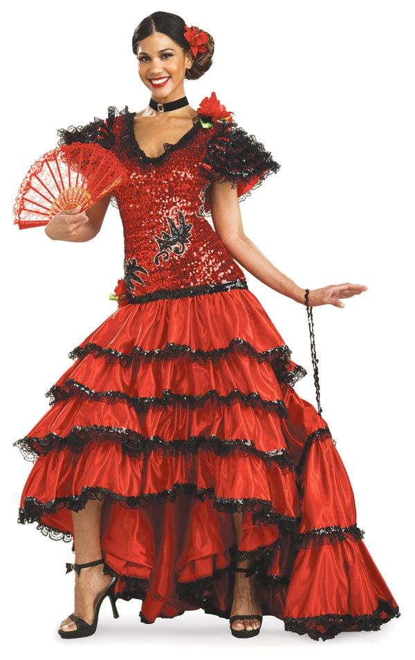 Spanish Dancer Google image from http://img.costumecraze.com/images/vendors/rubies/90954-Adult-Super-Deluxe-Red-Spanish-Beauty-Costume-large.jpg