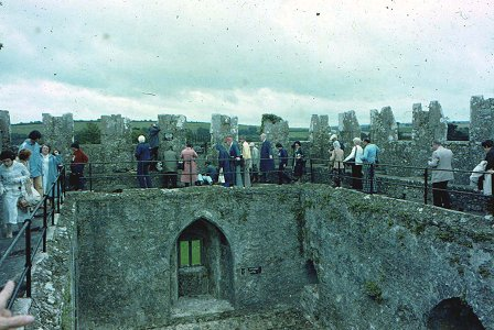 Kiss the Blarney Stone from Google image