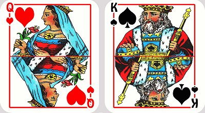 Playing Cards Queen King - Google image from http://www.unikeep.com/awards/downloads/2006_hobbies/Playing%20cards_ukp06.jpg