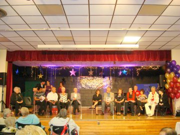 Contestants for Chartwell's 2009 Senior Star Competition