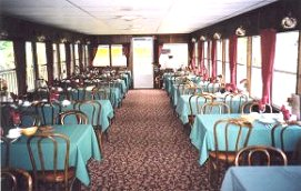 Grand River Cruise Boat Interior