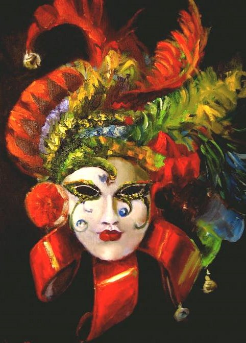 Mardi Gras by Cheryl Hardy Google image from http://fineartamerica.com/images-medium/mardi-gras-mask-series-cheryl-hardy.jpg