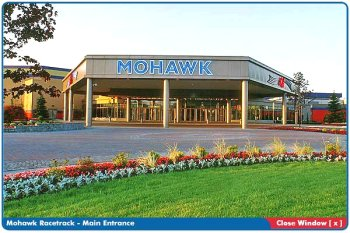 Mohawk Racetrack building Google image from http://www.woodbineentertainment.com/welcome/IMAGES/mohawkSmall.jpg