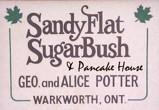 Sandy Flat Sugar Bush and Pancake House
