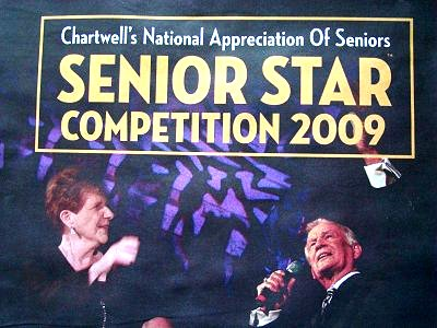 Chartwell's Senior Star Competition 2009 Photo taken from full page ad in SNAP North Mississauga Vol. 2 No. 2 June 2009, p. 23.