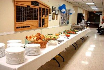 16h Annual Volunteer Recognition Event Buffet