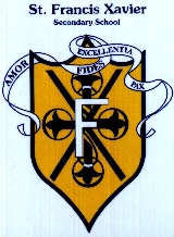 St. Francis Xavier Secondary School New Crest circa post 2003