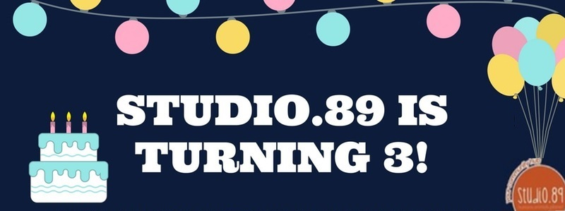 Studio.89 Turns 3 image from https://www.eventbrite.com/e/studio89-turns-3-tickets-31847338246