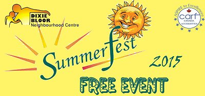 Summerfest 2015 Free Event Google image from http://www.dixiebloor.ca/