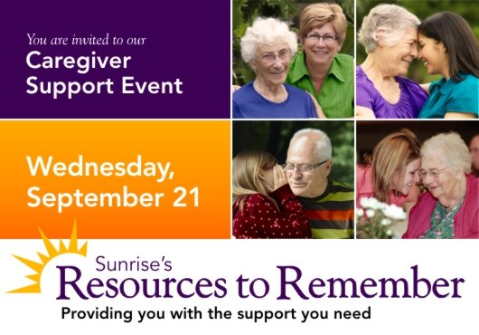 Sunrise's Resources to Remember image from http://www.sunriseseniorliving.com/ResourcesToRemember