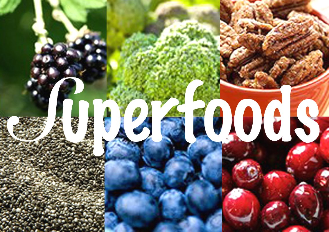 Superfoods Google image from http://www.injoewetrust.com.au/wp-content/uploads/superfoods.jpg