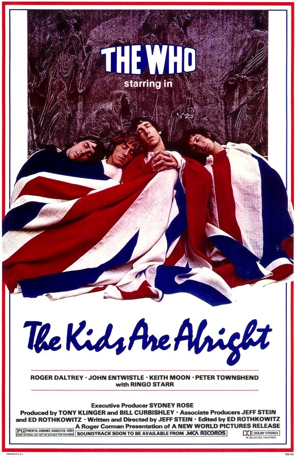 The Kids Are Alright [The Who] 2010 Movie Poster Google image from http://woodstock.wikia.com/wiki/The_Kids_Are_Alright_(film)