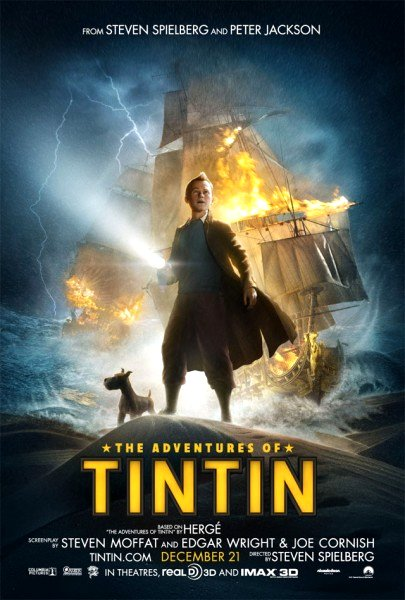 The Adventures of Tintin (2011) Google image from http://collider.com/adventures-of-tinin-movie-poster-fan-made-credits/