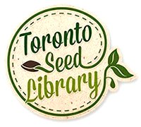 Toronto Seed Library logo image from http://www.torontoseedlibrary.org/