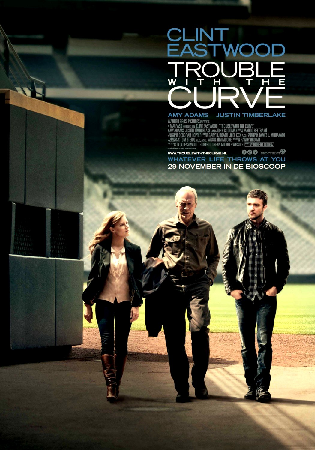 Trouble with the Curve (2012)Movie Poster Google image from http://www.upcoming-movies.com/posters/2012/september/trouble-with-the-curve-movie-poster-3.jpg