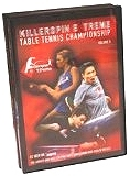 Killerspin Extreme Table Tennis Championships 2003 Volume 1 DVD