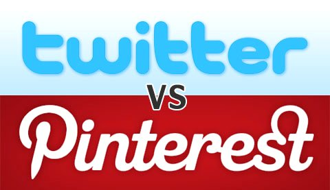 Twitter vs Pinterest Google image from http://www.technobuffalo.com/wp-content/uploads/2013/02/pinterest-vs-twitter.jpg