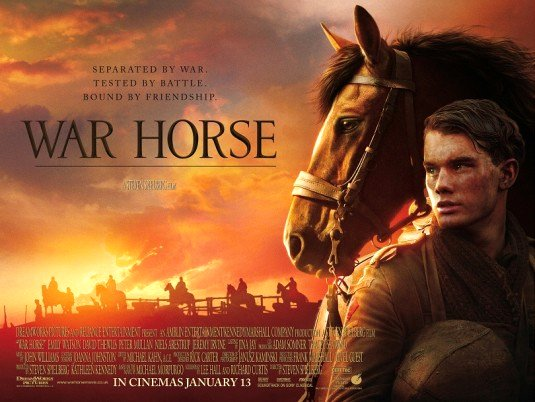 War Horse Movie Poster Google image from http://www.impawards.com/2011/war_horse_ver2.html