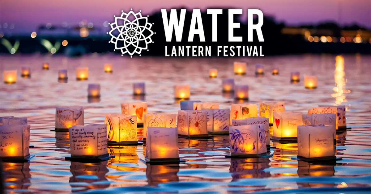 Water Lantern Festival Google image from https://www.waterlanternfestival.com/