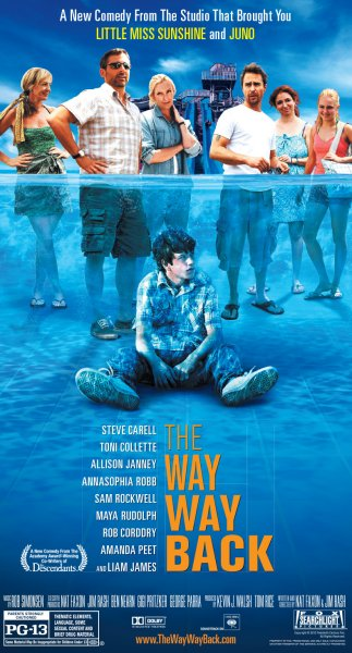 The Way Way Back Movie Poster Google image from http://static.squarespace.com/static/51b3dc8ee4b051b96ceb10de/t/51d8514ce4b01c133f361a67/1373131087250/the-way-way-back-poster.jpg