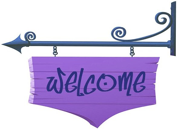 Welcome Sign Google image from http://stickygooeycreamychewy.com/wp-content/uploads/2009/07/welcome-sign-1.jpg