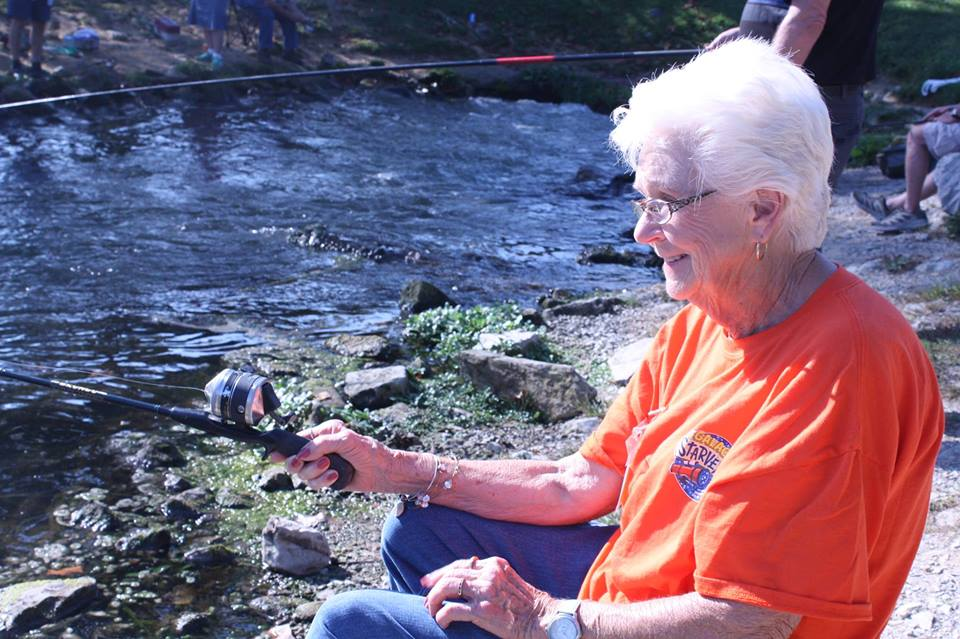 Come out and join us for a fun day of trout fishing at Wolf Creek National Fish Hatchery! Google image from https://lakecumberlandvacation.com/event/11th-annual-catch-a-smile-senior-fishing-derby/ wolf-creek-senior-fishing-derby.jpg