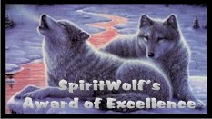 SpiritWolf's Award of Excellence