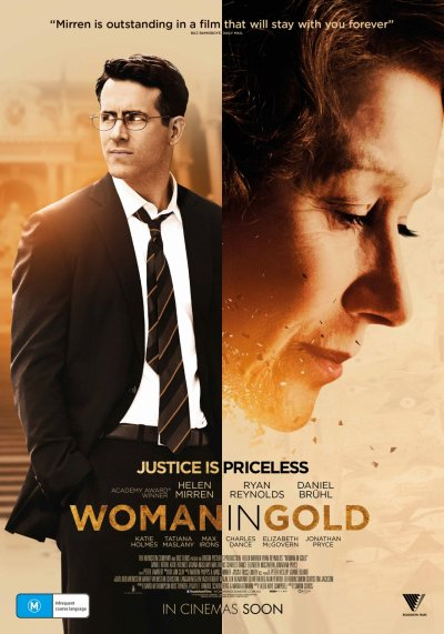 Woman in Gold 2015 Movie Poster Google image from http://theatrgwaun.com/wp-content/uploads/2015/05/1118full-woman-in-gold-poster.jpg