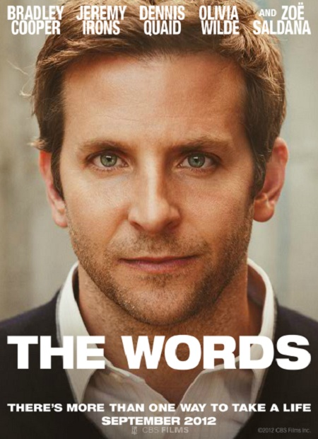 The Words (2012) Movie Poster Google image from http://theimpactnews.com/wp-content/uploads/2012/09/The-Words-Special-Poster.jpg