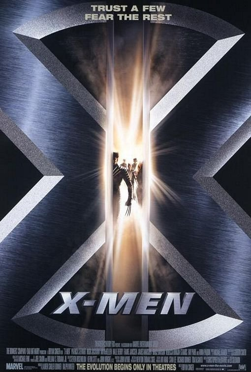 X-Men Movie Poster Google image from http://www.impawards.com/2000/posters/xmen_ver1.jpg