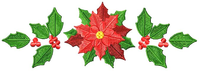 Christmas border decoration Google image from http://4-hobby.com/XmasPoinsettia/christmas_poinsetta_8_border.jpg