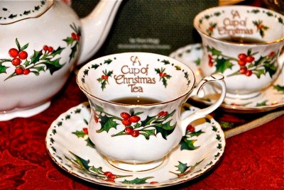Christmas Tea Google image from http://daytonsbluffseniors.org/wp/2013/11/cup-christmas-tea/