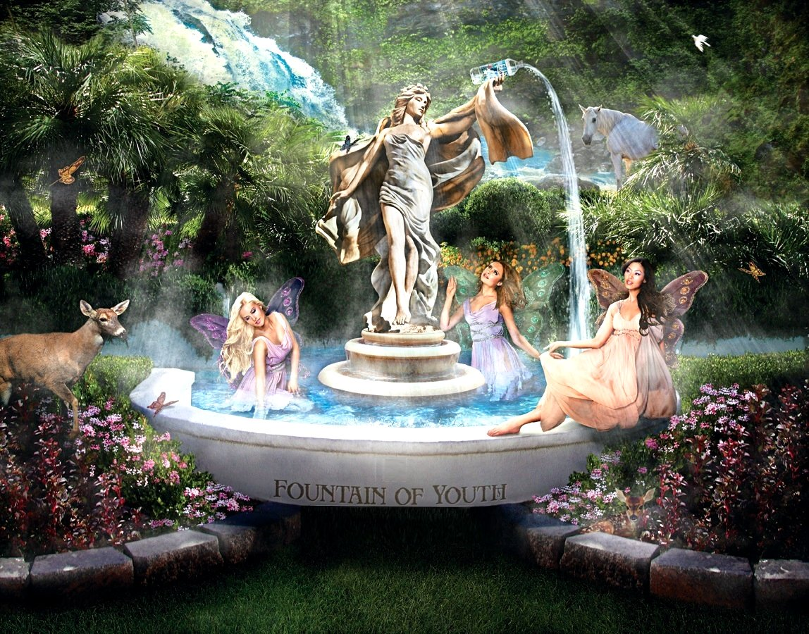 Fountain of Youth Google image adapted from http://www.winewomenandchocolate.com/wp-content/uploads/2015/10/imgres-2.jpg